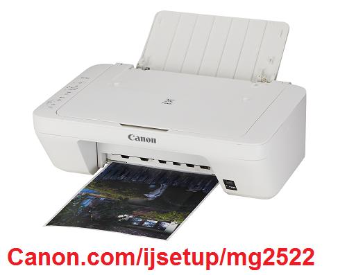 Canon.com/ijsetup/mg2522