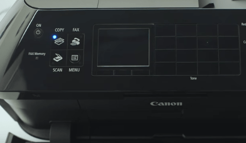 1 - Turn on your PIXMA MX922 model