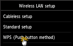 Push button method