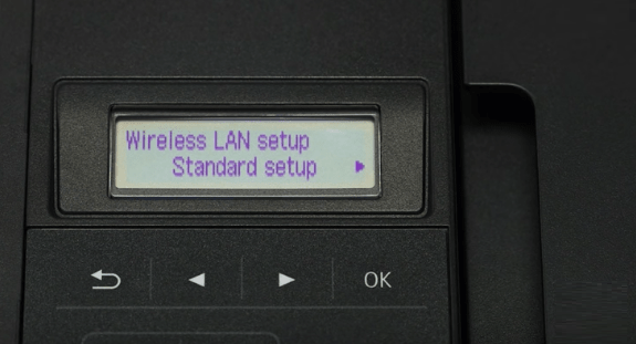 step 2 - Wireless Standard Setup