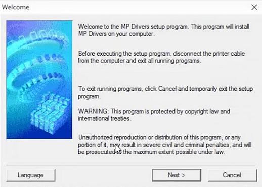 step 6 - Click Run to start the installation on Windows